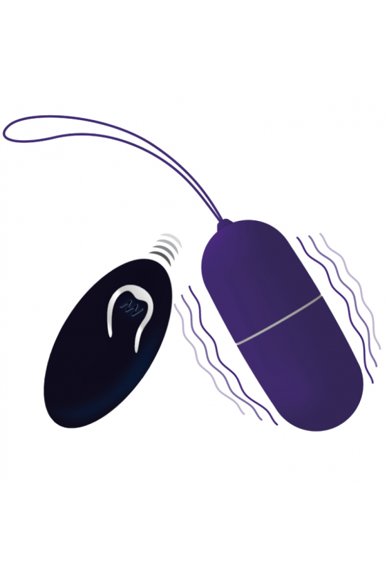 OVO VIBRATÓRIO INTENSE FLIPPY I VIBRATING EGG WITH REMOTE CONTROL ROXO